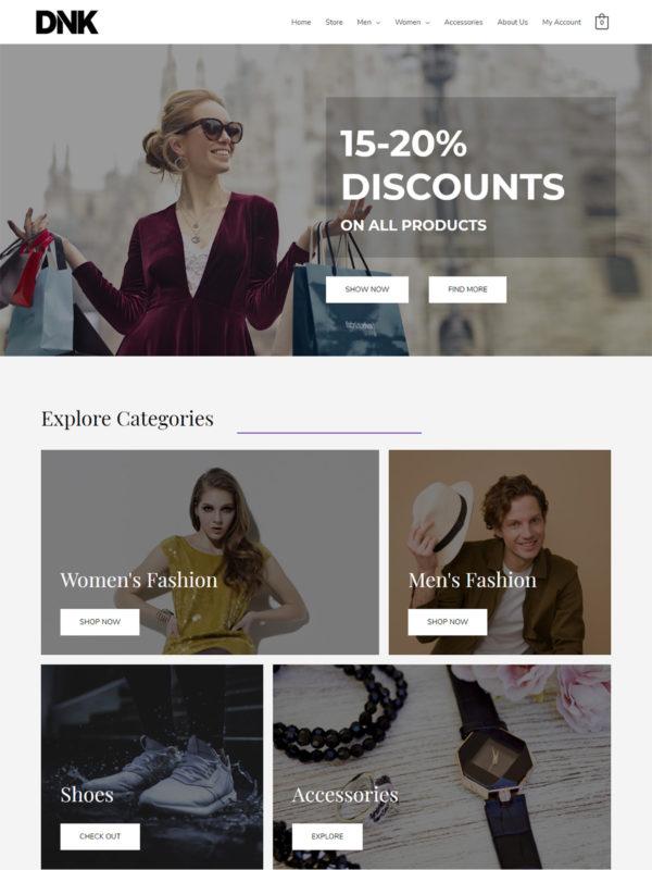 Brandstore Web Site Template